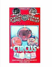Ringling Brothers Barnum & Bailey Circus ABC's (VHS 1988) Very Good