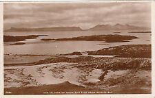 Rhum & Eigg From Bay, ARISAIG, Inverness-shire RP