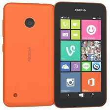 New Nokia Lumia 530 Dual Sim Orange 4GB 3G Unlocked Windows Phone-1Year Warranty