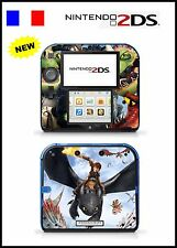 VINYL SKIN STICKER FOR NINTENDO 2DS REF 140 HOW TO TRAIN YOUR DRAGON