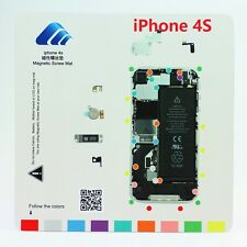 iPhone 4S Magnetic Screw Chart Mat Repair Professional Guide Pad Tools