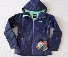 New The North Face Women's Fuseform Dot Matrix Insulated Jacket Garnet Size S