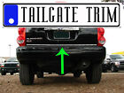 Chrome Tailgate Trunk Molding Trim - Dodge