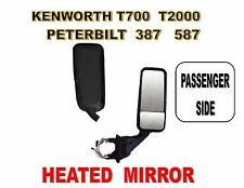 Peterbilt 387, 587 & Kenworth T2000, T700 Black Mirror Assembly R/H
