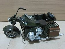 "1/6 Scale WWII Vintage Military Motorcycle for 12"" Action Figure"