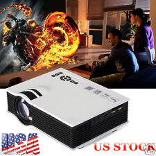 2800lumens LED Mini Home Theater Multimedia Projector 1080P HD HDMI USB Video