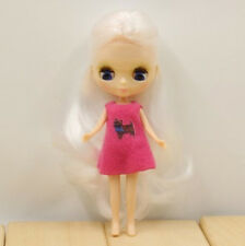 Petite Neo  White Hair Blythe Doll Nude Doll from Factory JSW91008+Gift