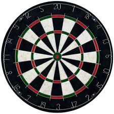 Bristle Dart Board Set with 6 Darts and Board 11 Lbs
