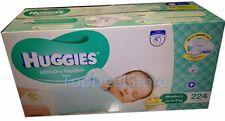 224 Huggies Ultra Dry Nappies Newborn Disposable Newborn Baby Boy Girl Nappy