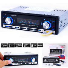 Car Stereo FM Radio MP3 Audio Player Bluetooth Phone USB/SD In-Dash Single DIN