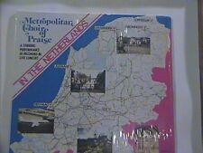 METROPOLITAN CHOIR OF PRAISE IN THE NETHERLANDS N/M LP STEREO