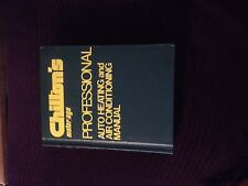 Chilton's motor/age Professional Auto Heating and Air Conditioning Manual!