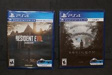 Ships today! New PS4 RESIDENT EVIL VII 7 & ROBINSON THE JOURNEY Playstation VR