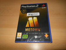 SingStar: Motown (Sony PlayStation 2, NEW SEALED