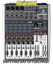 Behringer X1204USB 12-Channel Mixer - X 1204 USB PACKED IN ORIG BOX! X 1204 USB