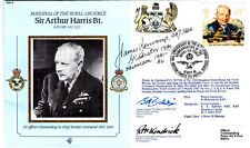 MRAF A Harris Cover Signed  Flt Lt J V Renvoize 247 Sqn Gladiators Battle of Bri
