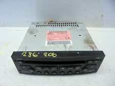 Stereo Headunit Cd Player Coding Required -04 Peugeot 206 1.4 Hdi 5 Door (Ref.28