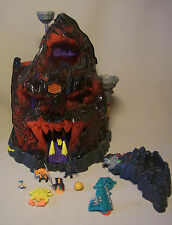 Vintage 90s Mighty Max Big Playset Spielwelt SKULL MOUNTAIN 1992 Bluebird Toys