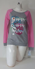 Womens Tops & Blouses Disney Frozen Long Sleeves Multi-Color Comfort Size Large
