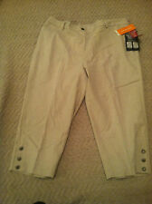 Cathy Daniels Women The Ankle Lenght Pants Size 18, Natural color, Tummy Reducer