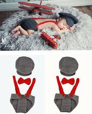 HOT Newborn Baby Girls Boys Crochet Knit Costume Photo Photography Prop Outfits