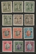 JapOcc N.China 1943 Overpt on New Peking Pt SYS (12v Cpt) MNGAI