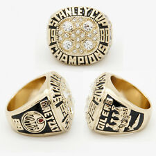 NHL STANLEY CUP REPLICA CHAMPIONSHIP RING EDMONTON OILERS WAYNE GRETZKY