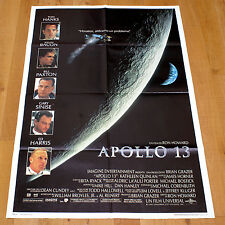 APOLLO 13 manifesto poster Moon Planet Spaceship Tom Hanks Ed Harris Kevin Bacon