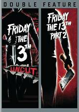 Friday the 13th/Friday the 13th: Part Two (DVD, 2015, 2-Disc Set)same day ship