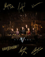 Vikings Season 4 Travis Fimmel Katheryn Winnick Signed Photo Autograph Reprint
