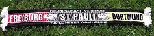 Dortmund St Pauli Freiburg Schal Freundschaft +neu+100 % Acryl+  Fan Ultra Kurve