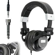 Estéreo De 3,5 Mm Auriculares Negros On-ear Calidad Latas-Neodimio Bass-Mp3
