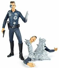 "Movie Maniacs Terminator 2 T2 T-1000 7"" Action Figure McFarlane Toys 2001"