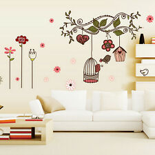 Fashion Chinese Style Vintage Home Art Decor Wall Stickers Living Room Decals