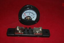 DC 0-20A Round Analog Ammeter Panel AMP Current Dia. 66.4mm DH52 with Shunt