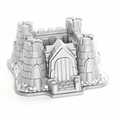 New Nordic Ware Castle Bundt Cake Pan Heavy Cast Aluminum Medieval Kids Birthday