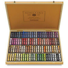 Sennelier Soft Pastels - Professional Artists Pastels - 100 Wooden Box Portrait