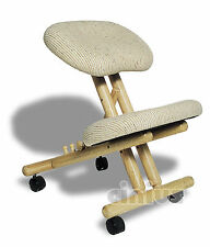 Sedia ergonomica Cinius. Fodera ed imbott. alta qualità.
