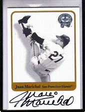 "2001  FLEER GREATS OF THE GAME JUAN MARICHAL ""SF GIANTS/HOF 1983"" AUTOGRAPH AUTO"