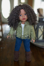 "Gorgeous Madame Alexander 18"" AA African American My Life doll with outfit - EUC"