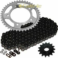 Black O-Ring Drive Chain & Sprockets Kit Fits HONDA CBR600F3 CBR600 F3 1997 98