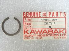 Kawasaki NOS NEW  92033-025 Circlip Snap Ring 25mm Z1 S1 S2 S3 F3 F4 1968-2015