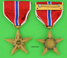 WWII Bronze Star Medal - Slot Back Brooch - Government Surplus Find original WW2