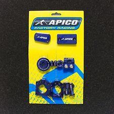 Apico Fabrik Bling Set Blau KXF250 11/16 & KXF450 09/16
