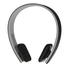BQ-618 Bluetooth V3.0+EDR Wireless Stereo Headset Headphone Microphone Black