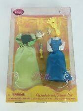Disney Belle Wardrobe and Friends Set Beauty and the Beast Doll Clothes NIB