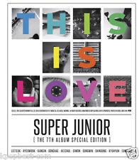 SUPER JUNIOR - This is love LEETEUK Ver(Mamacita Repackage Album) CD+Photobook
