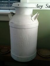 Antique Washington DC milk can