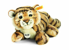 Steiff Radjah Baby Dangling Tiger, Striped, 28 cm, 066269. Ideal Child's Gift.