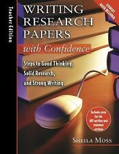 Writing Research Papers with Confidence: Teacher's Edition: Steps to G-ExLibrary